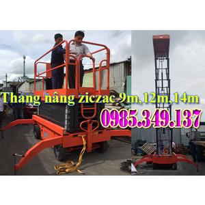 Thang nâng ziczac 9m SJY0.3-9M