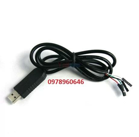Module chuyển đổi USB to COM (PL2303) có dây dài 1m