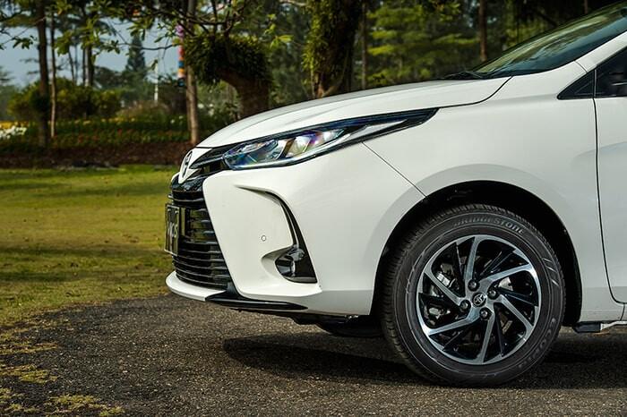 Ưu điểm của mẫu xe sedan Toyota Vios mới