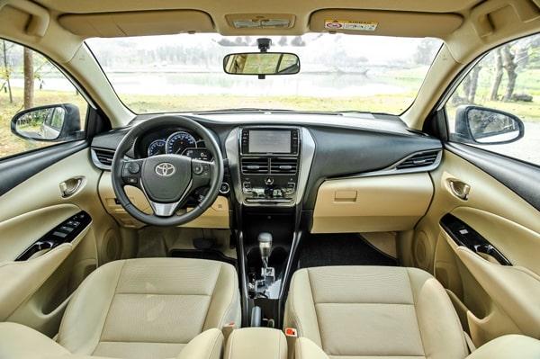 Ưu điểm của xe Toyota Vios mới
