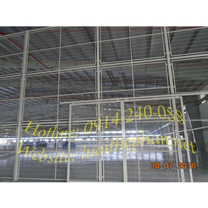 Vách lưới ngăn chia nhà xưởng