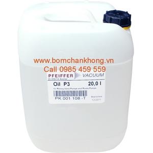 VACUUM PUMP OIL PFEIFFER PK 001 108 -T