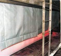 Vải bạt may rèm cửa chịu nhiệt