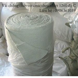 Vải chống cháy ceramic dùng cho lò nung.