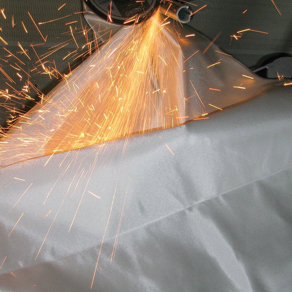 Vải chống cháy để hàn, xì, cắt