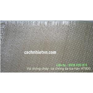 Vải bạt chông cháy HT800 - vải chống tia lửa hàn,tia lửa hàn giỏ đá