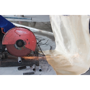 Vải có khả năng chống hàn, cũng hoạt động như một rào cản nhiệt.