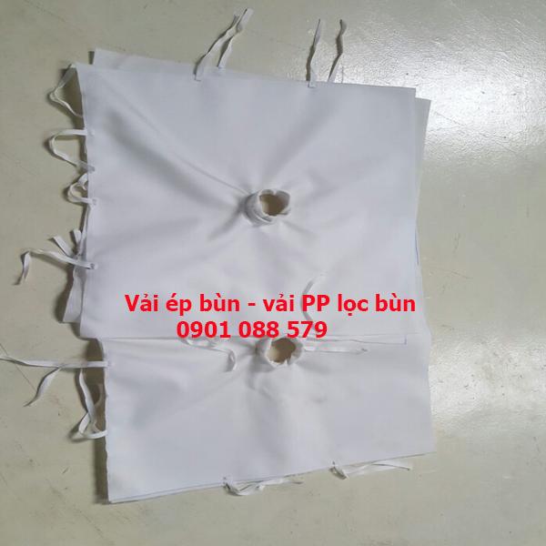 Vải ép bùn - vải lọc khung bản - vải PP lọc bùn - Vải lọc bùn PP