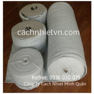 Vải gốm Ceramic chịu nhiệt dày 2mm
