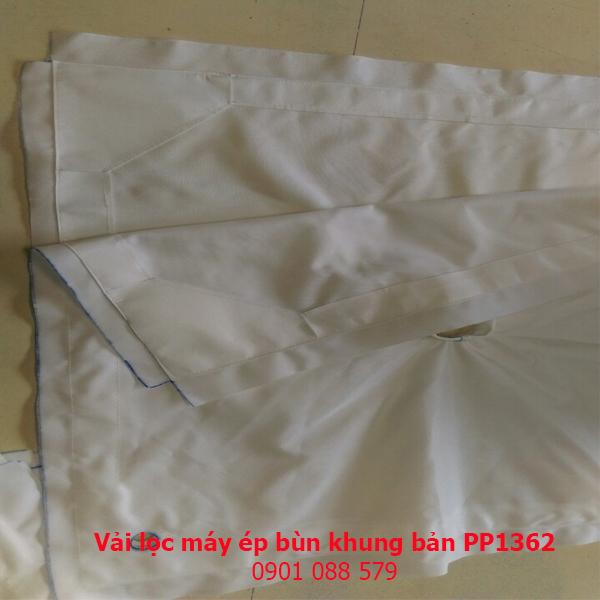 Vải lọc máy ép bùn khung bản PP1362