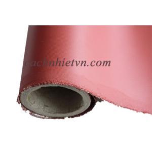 Vải silicone cốt sợi thủy tinh bọc cách nhiệt