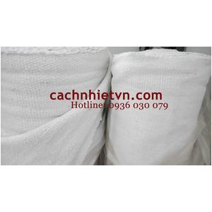 Vải sợi gốm màu trắng