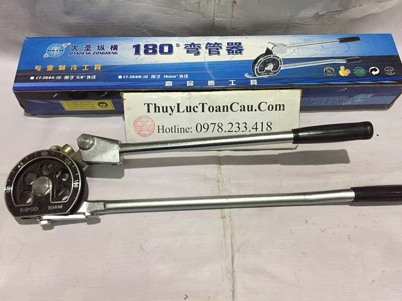 Vam uốn ống CT-366M 6 8 10 12 16 19 22mm