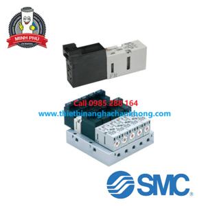 VAN ĐIỆN TỪ 4 CỔNG SMC SERRIES VQD1000-V