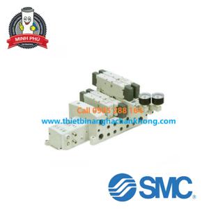 VAN ĐIỆN TỪ 5 CỔNG ISO SMC SERRIES VSS8-4