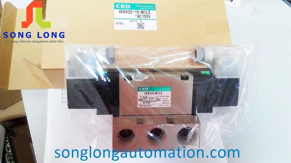 VAN ĐIỆN TỪ CKD 4KB420-15-M1LS-AC110V