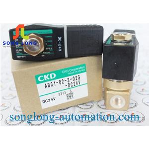 VAN ĐIỆN TỪ CKD AB31-02-3-02G-DC24V