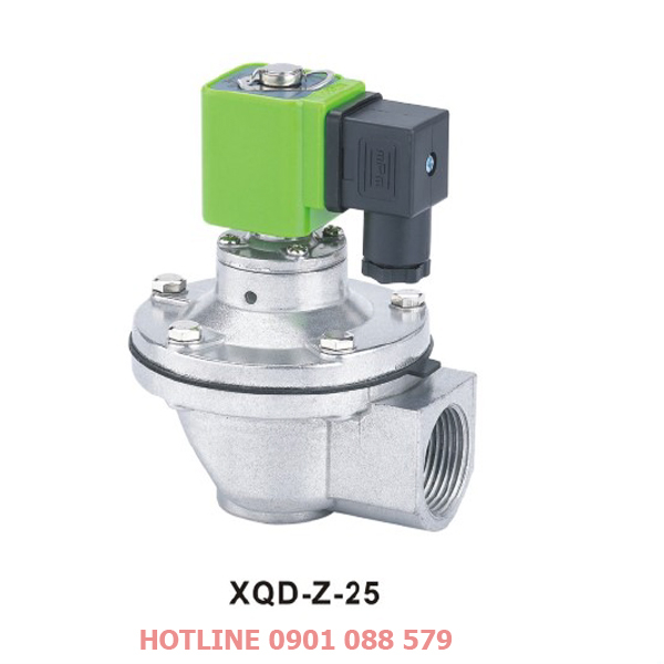 Van giũ bụi XQD-Z-25 loại khớp nối ren