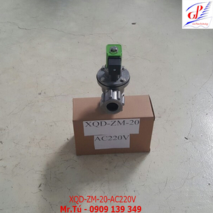 Van giũ bụi XQD-ZM-20 khớp nối nhanh