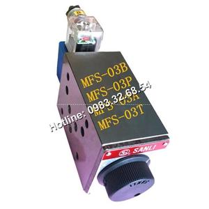 Van tiết lưu điều chỉnh lưu lượng dầu SANLI MFS-03T