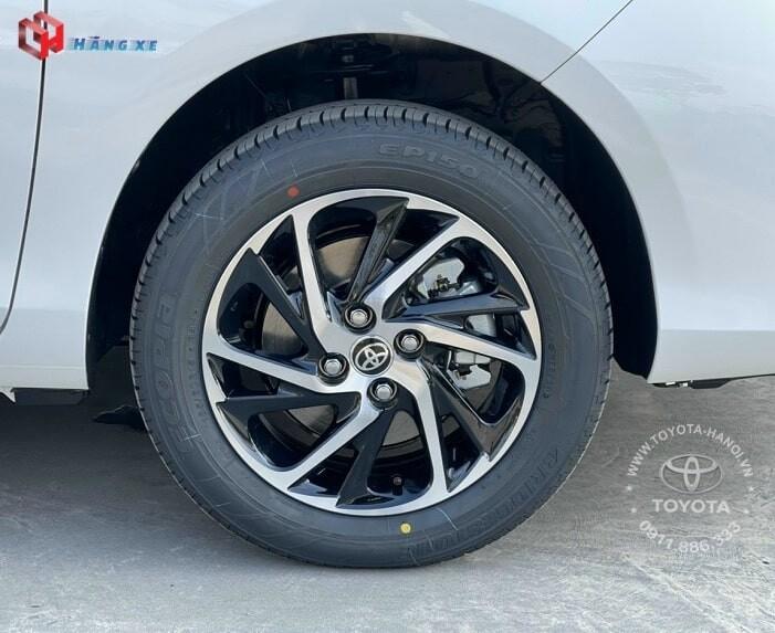 Vành bánh xe Vios G 2021