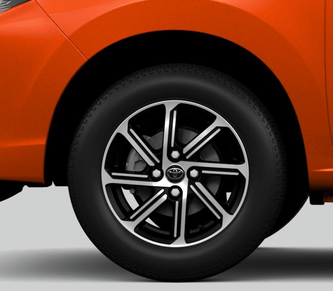 vành bánh xe toyota wigo 2021
