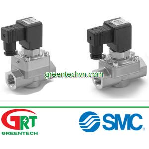 3/2-way solenoid valve / pilot-operated ø 16 - 18 mm | VCH series | Van khí SMC | SMC Vietnam | SMC