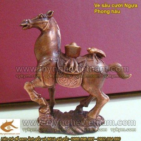 Ve sầu cưỡi Ngựa, vật phẩm phong thủy mang lại công danh và tài lộc