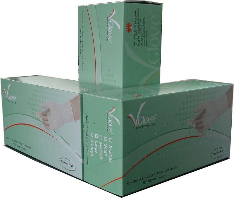 Găng tay y tế không bột VGlove