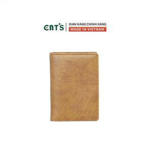 Ví da đựng passport hộ chiếu du lịch CNT VN18 sang trọng Bò Lợt