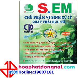 Vi sinh xử lý chất thải hữu cơ HPDON-EM