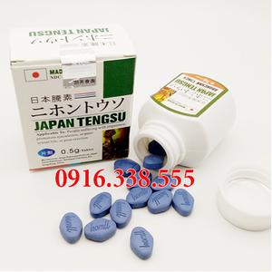 Thuốc cương dương cao cấp Japan Tengsu Dạng Viagra Của Nhật Bản