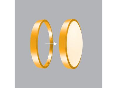 Viền LED Ốp Trần màu Vàng