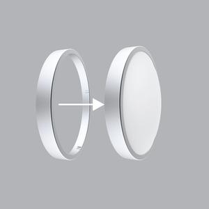 Viền LED Ốp Trần màu xám bạc