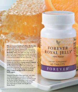 Viên bổ sung dinh dưỡng - forever royal jelly MS 036