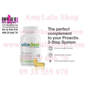 Viên uống trị mụn trắng da Proactiv VitaClear Anti-acne Complex Multivitamin (60viên/hộp) -