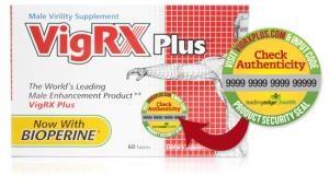 VigRx Plus Male Virility Supplement Thuốc Hỗ trợ Sinh Lý Tăng Kích Thước Dương Vật