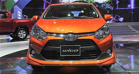 Toyota Wigo được xem là đối thủ đáng gờm nhất của VinFast Fadil