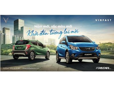 VinFast Fadil thêm 2 màu sơn mới: Đón đầu xu hướng thời trang 2021