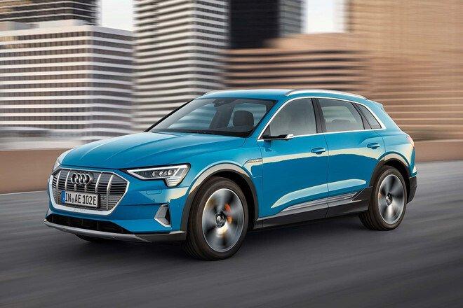 E-tron đánh dấu bước lấn sân sang lĩnh vực xe điện của Audi.