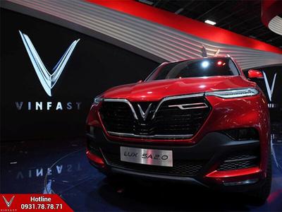 VinFast SUV LUX SA2.0 vào top 8 xe mới 'hot' nhất Paris Motor Show