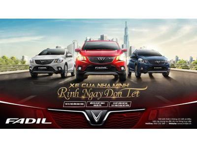 VinFast tung ưu đãi khủng cho khách hàng mua xe Fadil - Miễn phí lãi vay 2 năm đầu tiên