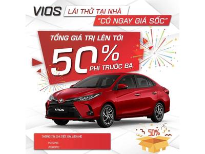 Toyota Vios nhận 'mưa' ưu đãi, sở hữu xe chỉ từ 448 triệu đồng