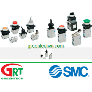Mechanically-operated valve / for air / 2/3-way max. 1 MPa   VM100, 200 series   SMC Vietnam