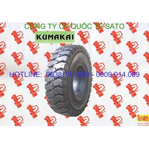 Vỏ - bánh - lốp đặc xe nâng Kumakai - Phụ tùng xe nâng