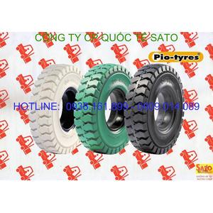 Vỏ - bánh - lốp đặc xe nâng Pio - Phụ tùng xe nâng