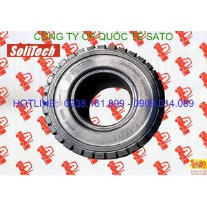 Vỏ - bánh - lốp đặc xe nâng Solitech - Phụ tùng xe nâng