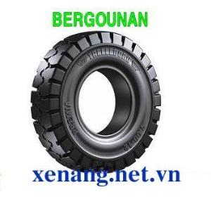Vỏ đặc xe nâng 2.50-10 Bergounan (trắng)