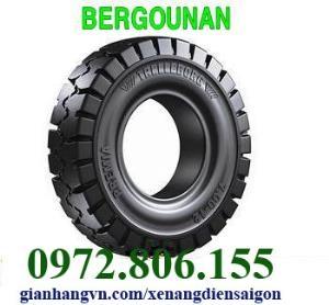 Vỏ đặc xe nâng 23x9-10 Bergougnan