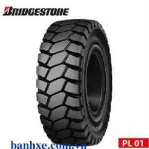 Vỏ đặc xe nâng 650-10 Bridgestone